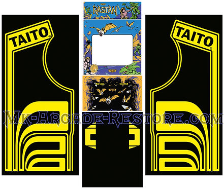 Rastan Arcade Cabinet Taito