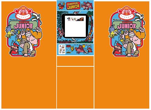 Donkey Kong Junior Side Art Arcade Cabinet DKJR
