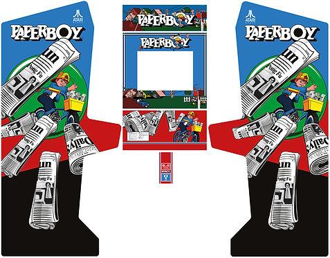 Paperboy Side Art Arcade Cabinet