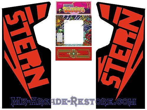 Super Cobra Arcade Cabinet Stern