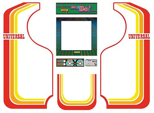 Mr.Do Side Art Arcade Cabinet