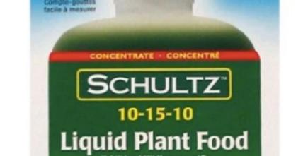 Shultz Liquid Plant Food, 4FL OZ