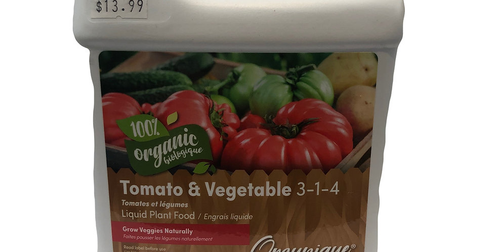 Organic Tomato & Vegetable 3-1-4 (850ml)
