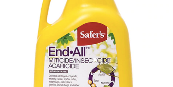 Safer's End All Insecticide Concentrate, 500ML