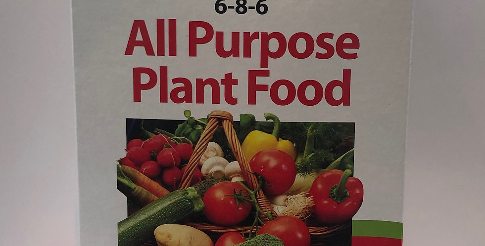 Evergro All Purpose Plant Food 6-8-6, 2kg