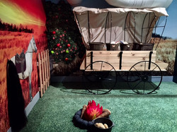 wagon campfire
