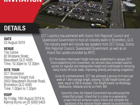 SCT Bromelton - Rail Industry Event