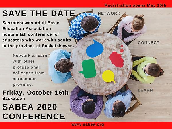 SABEA Conference 2020 Saskatoon
