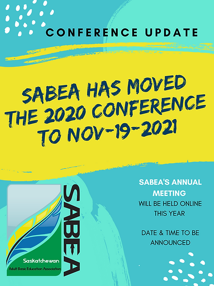 SABEA HAS MOVED THE 2020 CONFERENCE TO 2