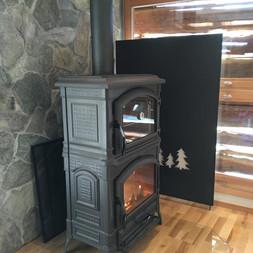 Fabrication d'une paroi pare-chaleur avec découpe de