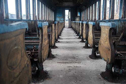 Abandoned Train Car