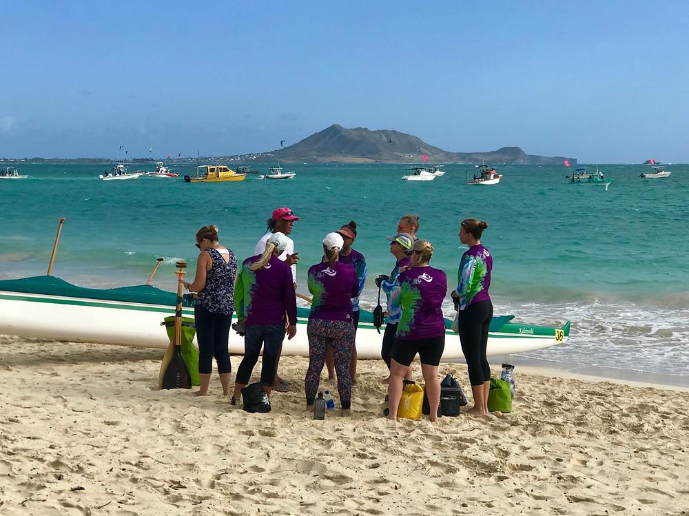 Outrigger Canoe Club - DAD Center Race - Kailua to Waikiki