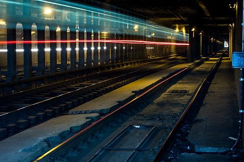Subway Light Trail