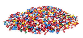 colorful-plastic-polymer-granules-on-whi
