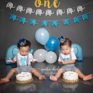 Twins Cake Smash