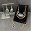 Thumbnail: Moss Agate Winged Sun Disk Jewelry Set