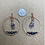 Thumbnail: Hematite, Raw Amethyst Points, and Copper Hoops