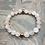 Thumbnail: Rose Quartz & Copper Stretchy Bracelet