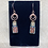 Thumbnail: Goldstone Chip Filled Bottle Earrings