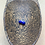Thumbnail: Hypoallergenic Lapis Lazuli Stud Earrings