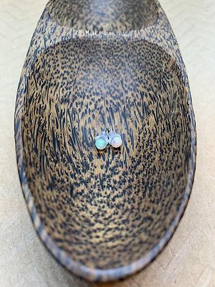 Hypoallergenic Ethiopian Opal Stud Earrings