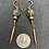 Thumbnail: Labradorite and Copper Earrings