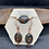 Thumbnail: Garnet and Copper Spiral Jewelry Set