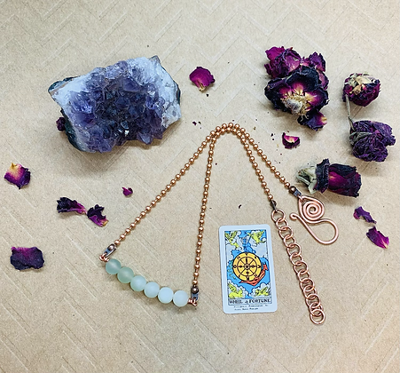 Major Arcana Choker | The Wheel of Fortune