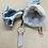 Thumbnail: Rose Quartz and Copper Minimalist Pendant