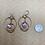 Thumbnail: Raw Amethyst Orbit Hoop Earrings