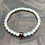 Thumbnail: Faceted Opal and Copper Stretchy Bracelet