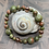 Thumbnail: Unakite and Copper Stretchy Bracelet