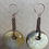 Thumbnail: Fossil Coral and Copper Ear Weights