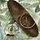 Thumbnail: Herkimer Diamond and Obsidian Orbit Hoop Earrings