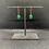 Thumbnail: Black Tourmaline and Aventurine Copper Earrings