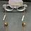 Thumbnail: Blue Kyanite, Tigers Eye, and Copper Eyeglass Chain | Mask Chain