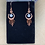 Thumbnail: Selenite and Hammered Copper Earrings