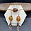 Thumbnail: Amber and Copper Leaf Jewelry Set