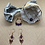 Thumbnail: Amethyst and Copper Jewelry Set