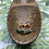 Thumbnail: Moss Agate and Copper Stackable Ring | Size 8