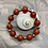 Thumbnail: Carnelian & Copper Stretchy Bracelet