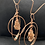 Thumbnail: Aragonite, Fluorite, and Copper Orbit Tunnel Hoops