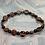Thumbnail: Mahogany Obsidian and Black Obsidian and Copper Stretchy Bracelet
