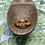 Thumbnail: Tigers Eye Copper Stackable Ring   Size 9