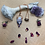 Thumbnail: Faceted Dendritic Opal and Sodalite Amulet