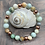 Thumbnail: Amazonite and Copper Stretchy Bracelet