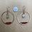 Thumbnail: Carnelian, Herkimer Diamond, and Copper Hoops