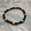 Thumbnail: Smoky Quartz & Copper Stretchy Bracelet
