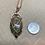 Thumbnail: Unakite and Garnet Amulet