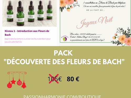 """Pack """"découverte des fleurs de bach"""""""